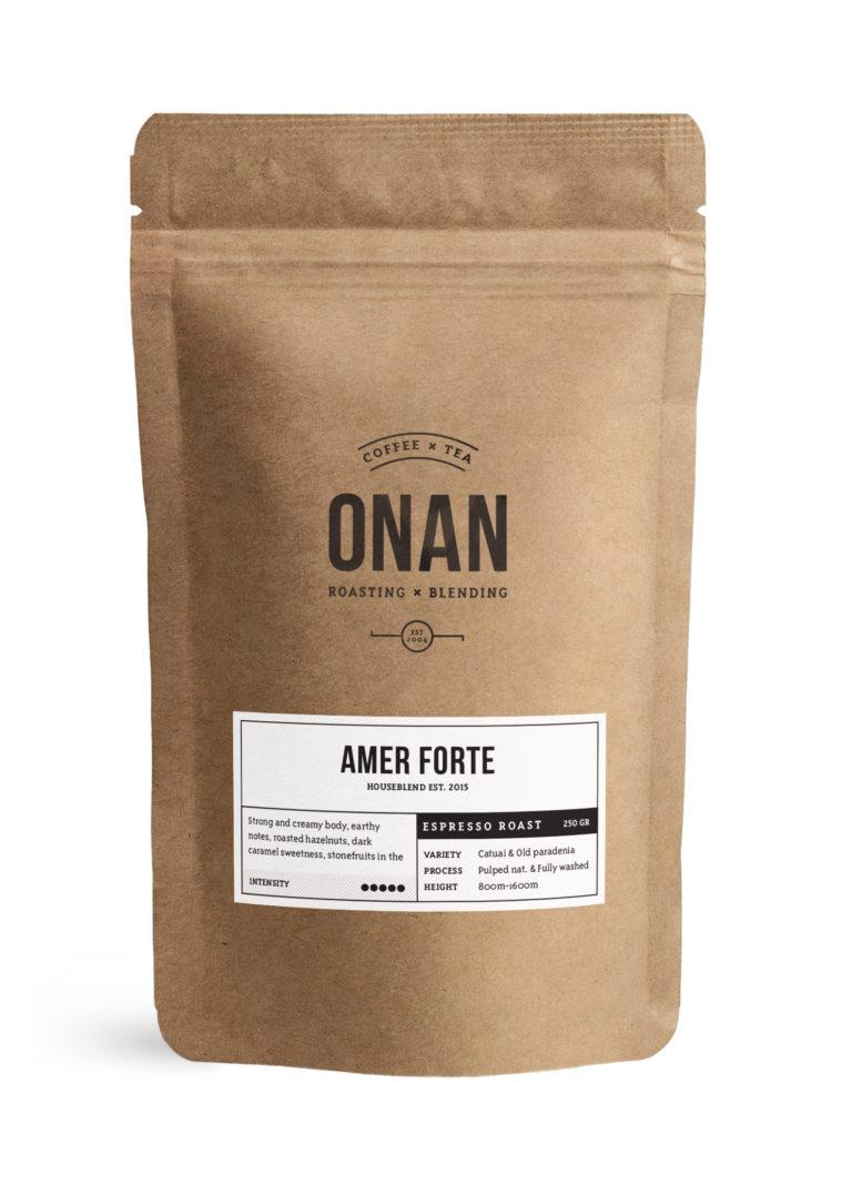 Amer Forte      Espresso roast