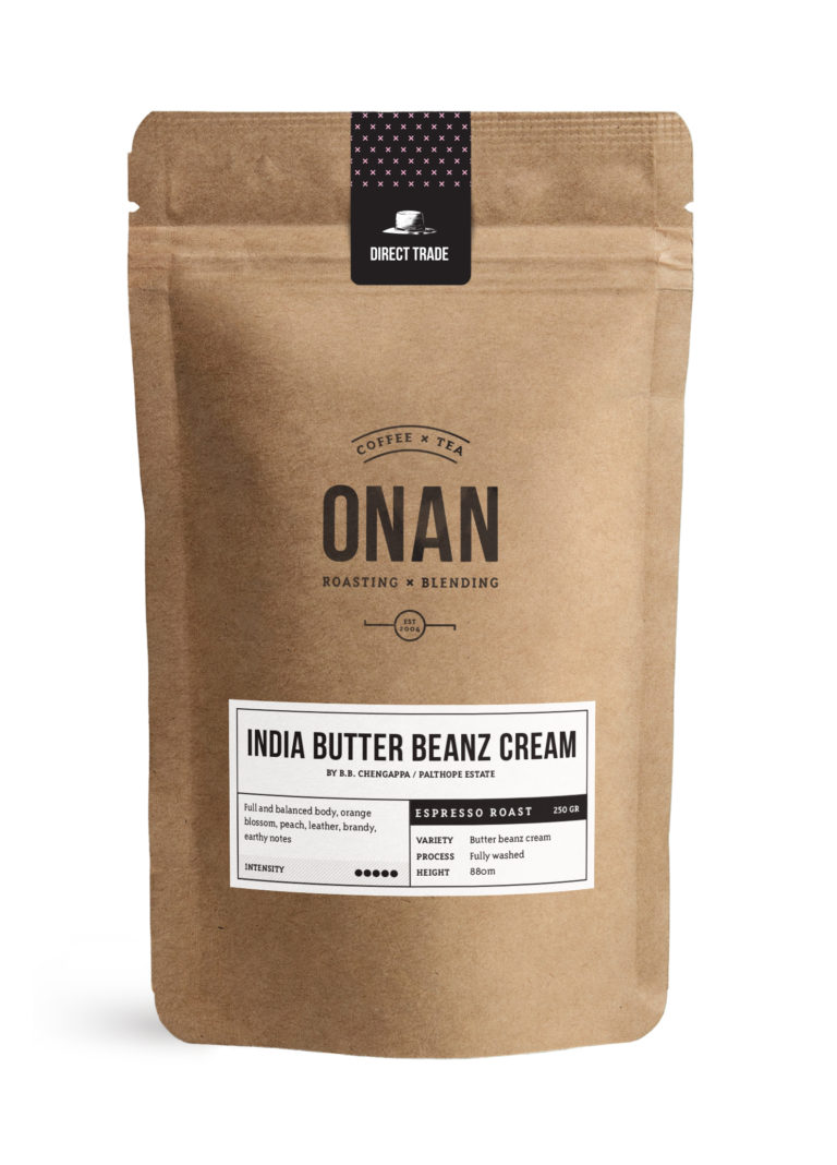 India Butter Beanz Espresso