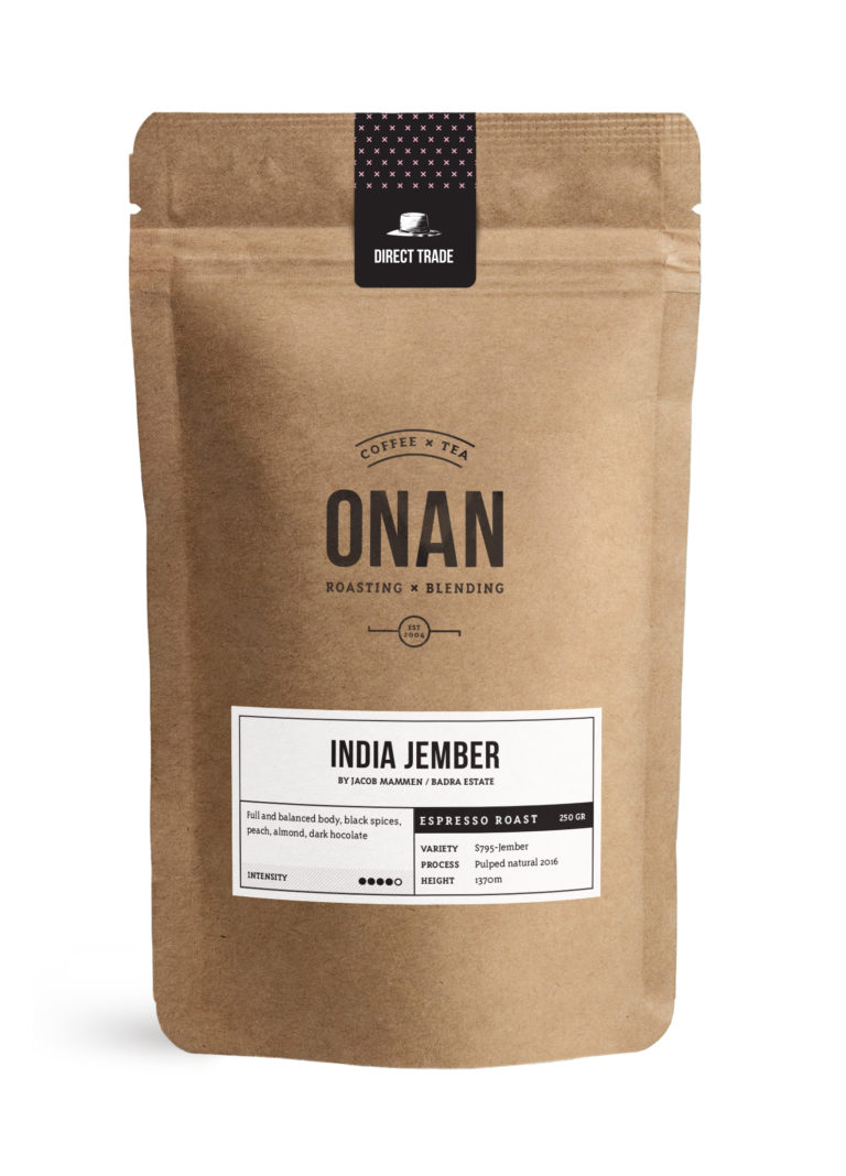 India Jember       Espresso roast