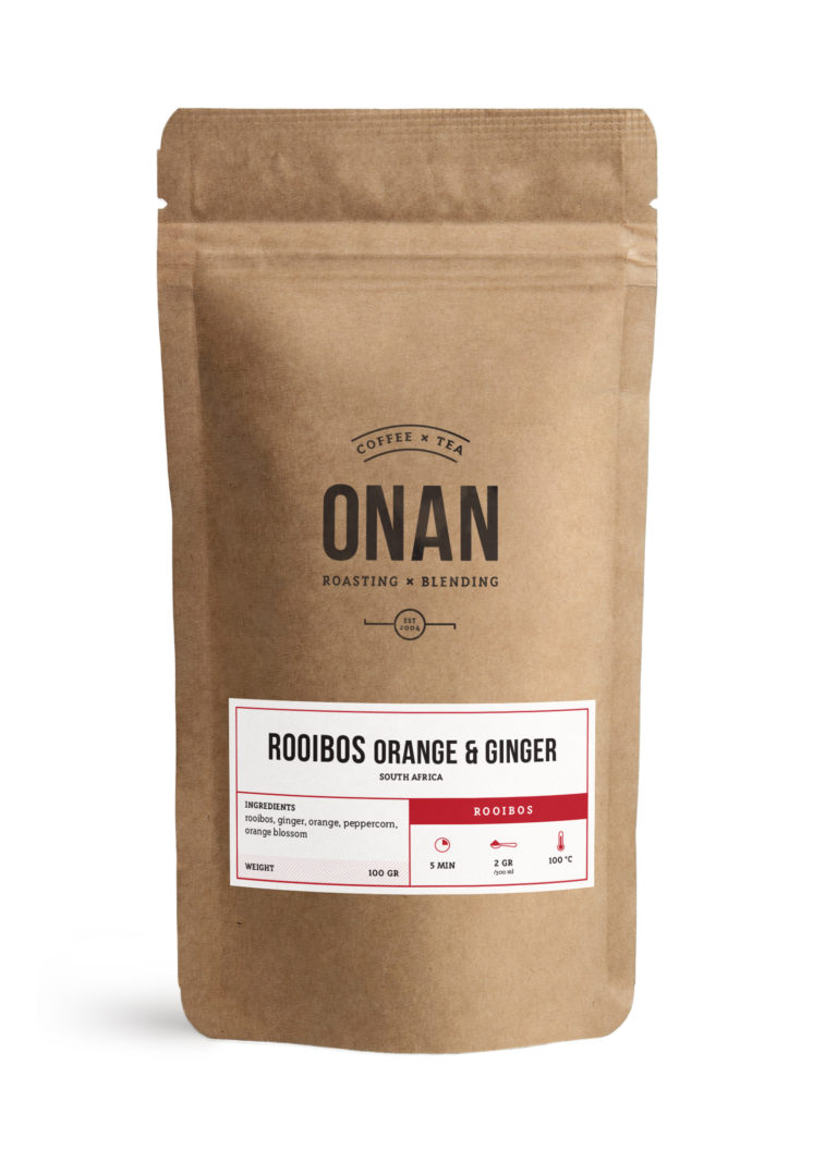 Rooibos orange & ginger