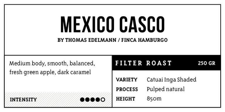 Mexico Casco   Filter roast